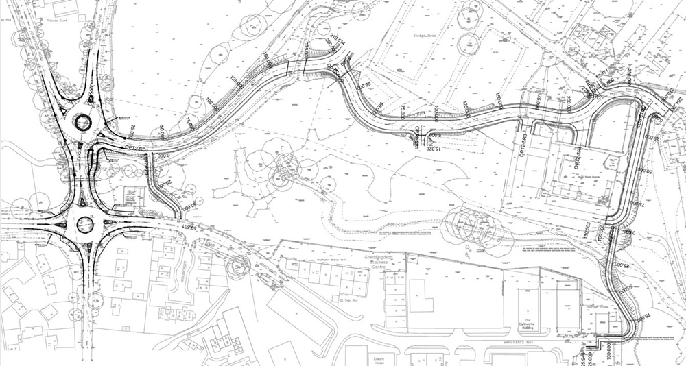 Connect Consultants residential development highway design