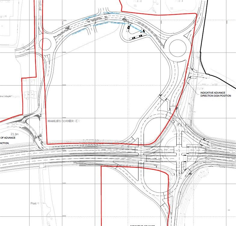 Mid Sussex District Council Site Allocations DPD Public Examination Science Park access drawing