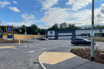 Aldi store opening, access designed by Connect Consultants