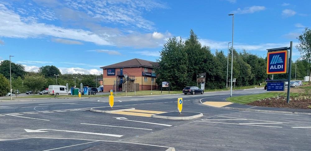 Connect Consultants Aldi Lutterworth access junction