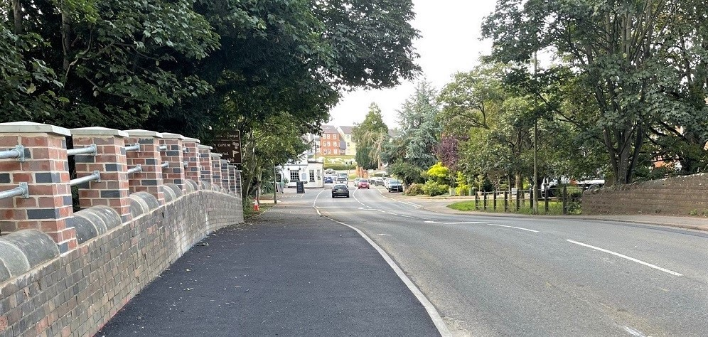 Connect Consultants Aldi Lutterworth cycle route improvements